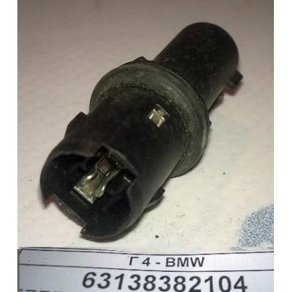 Патрон лампы повторителя поворота BMW E46 E60 E63 E83; дополнительного освещения E53 черный б/у