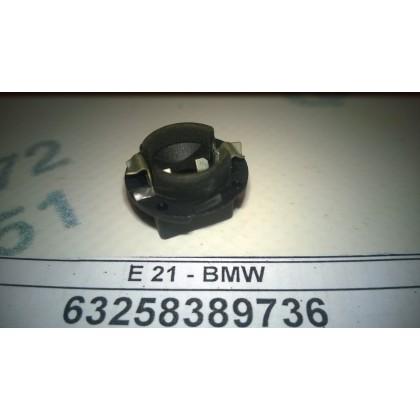 Патрон лампы плафона освещения салона BMW черный б/у