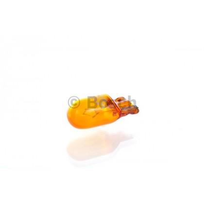Лампа 12V 5W W2,1*9,5d повторителя поворота желтая